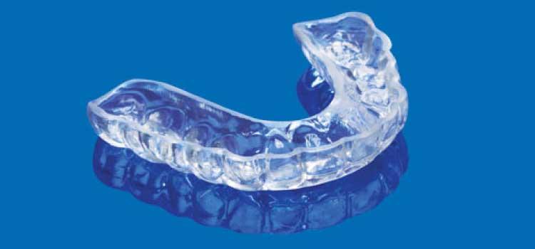 férula dental de descarga bruxismo