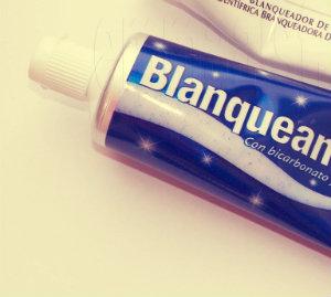 blanqueamiento dental casero con pasta de dientes