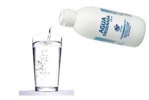 agua Oxigenada enjuague llagas en la boca