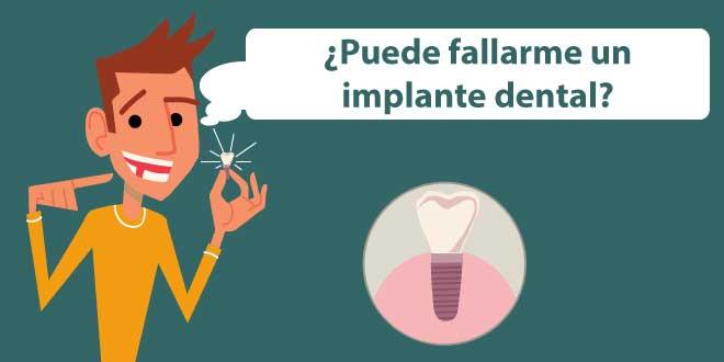 complicaciones de los implantes dentales
