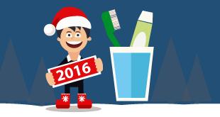 propósitos higiene dental año nuevo