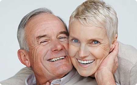 prótesis dentales en Burgos pareja rie